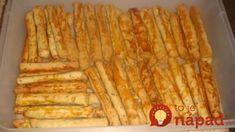 Mega chutné cuketové tyčinky: Ostatné recepty na domáce tyčinky ruším, na tieto chrumkáče sa nechytajú! Raw Vegan, Finger Foods, Ham, Zucchini, Tofu, Buffet, Good Food, Food And Drink, Pizza