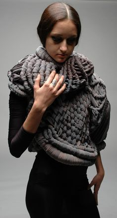 Sculptural Clothing | Emily Hiller