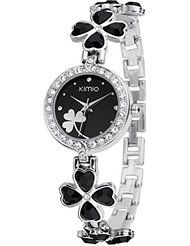 KIMIO K456L Ladies Quartz Bracelet Wristwatch Lucky Grass Flower Diamond Wrist Watch Daily Stainless… by KIMIO $10.81 FREE Shipping on eligible orders Show only KIMIO items 3.4 out of 5 stars 13