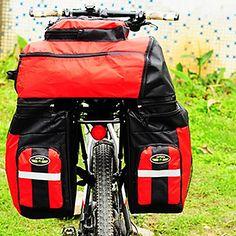 FJQXZ Poliéster 600D 70L de gran capacidad impermeable Red Bike / bolso de la bicicleta – EUR € 49.99