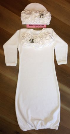 Newborn Baby Girl Chanel Inspired Take Home by BabicakesCouture, $42.00