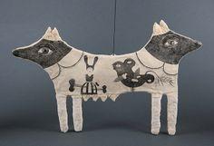 Unique Handmade Art Dolls, Sculptures, Jewelry, Pencil Drawings: Dog - Thinking About the Secret Spirited Art, Guys And Dolls, Sculptures For Sale, Selling Art Online, Sculpture Clay, Cute Dolls, Medium Art, Handmade Art, Textile Art