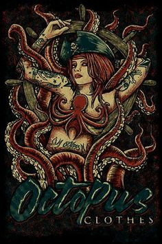 Octopus clothes - trockz