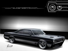 1966_Plymouth_Pro_Touring_Concept