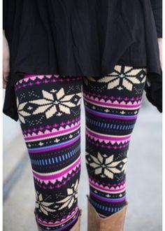 Cozy cute leggings