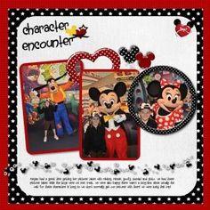 disney scrapbooking pages ideas | Disney scrapbook by frieda