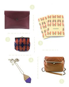 { 1. Rosemary Leather , 2. Alexandra Mosaico Pattern , 3. Mosaico Notebook , 4. Diamante Glossy , 5. Lola Leather } With love from Helsinki, we have Moimoi! A sustainable leather bags and accessories brand, they carry handbags, wallets,...