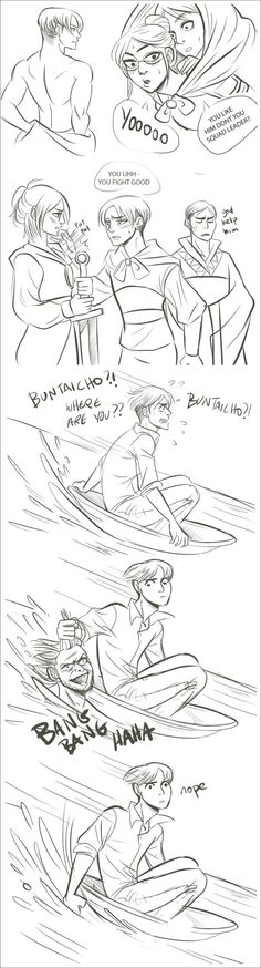 Mulan and Attack On Titan >> Levi as Li Shang, Hange as Mulan, Moblit as Mushu (lol), Erwin as the Emperor