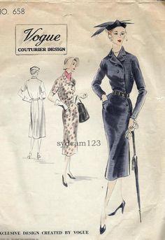 1951 Vogue 658