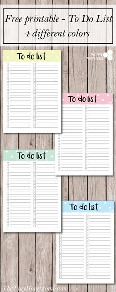 to do list colorate