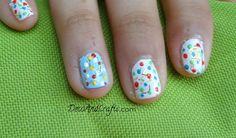 Easy Nail Art  decoración de uñas facil video: http://youtu.be/MXtO5wvNIJk