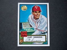 2001 Topps Archives #238 Curt Simmons Phillies NM/MT