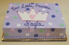Fondant Princess Crown and Polka Dots by Creative Cakes - Tinley Park, via Flickr