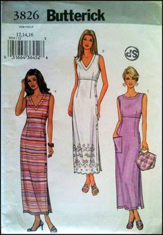 Butterick 3826  Misses'/ Misses' Petite Dress  by ThePatternShopp, $8.00