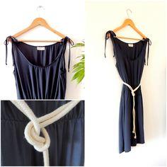 Beautiful dress, Silk and Hemp.. We are a slow fashion brand from Uruguay