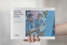Corporate Landscape Brochure by rinatyassari on @creativemarket