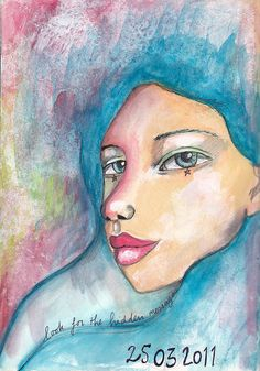 art journal - march 2011 by willowing, via Flickr