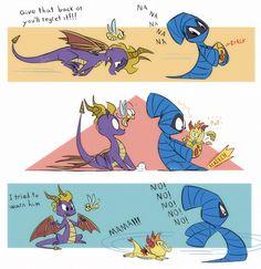 Spyro Comic by Random-FanArt.deviantart.com on @DeviantArt