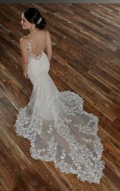 1059 Wedding Dress with Sheer Bodice and Shaped Train by Martina Liana. Bridal Gown Available at The Wedding Studio Greenwood Bodice Wedding Dress, Wedding Dress Train, Dream Wedding Dresses, Designer Wedding Dresses, Bridal Dresses, Wedding Gowns, Wedding Dress Shapes, Essense Of Australia Wedding Dresses, Ceremony Dresses
