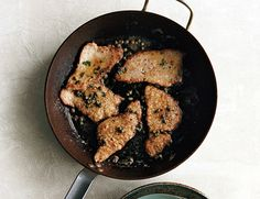 Veal Scallopini with Brown Butter and Capers by epicurious: Quick and easy.  #Veal