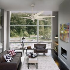 Kichler Lehr 310115ANS Contemporary Living Room Lighting