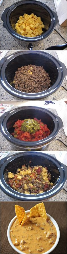 The greatest Queso that ever lived! I need to add some Jalapenos or/ and Serano peppers to this! I'm going to make this!