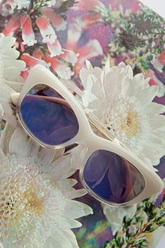 Make a fierce statement in these cat-eye TOMS sunglasses.