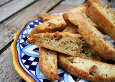 Savory Parmesan Biscotti from Italian Food Forever
