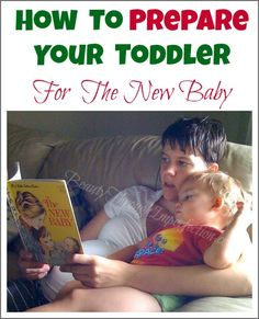 Must read for mamas expecting a new baby!!! These are all such great ideas! 5 Ways to Prepare your Toddler to be an Older Sibling