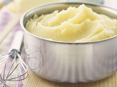 On a tendance à oublier qu'une purée de pommes de terre n'a pas grand chose de sorcier à faire. Et la vraie purée de pommes de terre maison, c'est tout...