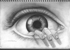 With Envy and Justice for All - Glory to God for All Things Cool Eye Drawings, 3d Pencil Drawings, Dark Art Drawings, Art Drawings Sketches, Trippy Drawings, Drawing Eyes, Baby Memorial Tattoos, Surrealism Drawing, Evil Eye Art
