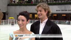 Meryl Davis and Charlie White interview on the Today Show-- love this performance!