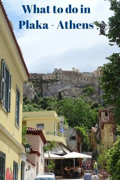 Explore Plaka, Athens oldest neighborhood! Greece