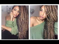 How To do Havana Marley Twists: Super EASY TUTORIAL!! Invisible Roots - YouTube