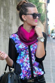 Glamor      #fashion #floral