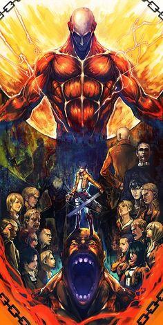 Shingeki no Kyojin/Attack on Titan - Anime (Caps. Marvel Vs Dc Comics, Manga Anime, Anime Art, Humanoid Creatures, Hxh Characters, Titans Anime, Pokemon, Attack On Titan Art, Hyouka