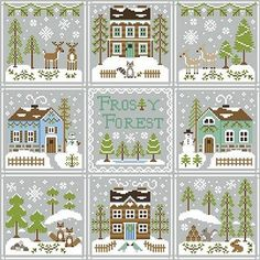 Country Cottage Needleworks - Frosty Forest #9 - Frosty Forest – Stoney Creek Online Store