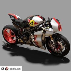 Going through previous posts we love that reflect what Pagnol is about: Honoring the past yet modern, racing derived and performance. Love this from Pagnol creative rider Paolo Tesio, loving this racing livery. Ducati Cafe Racer, Concept Motorcycles, Ducati Motorcycles, Ducati Monster, Moto Bike, Motorcycle Bike, Café Race, Sidecar, Ducati Desmo