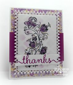 Simply Southern Sandee: Thankful for Stencilled Backgrounds!