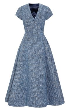 A Dress with Back-Slit by Emilia Wickstead - Moda Operandi