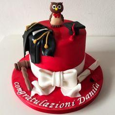 Torta di laurea in giurisprudenza Jurisprudence degree cake