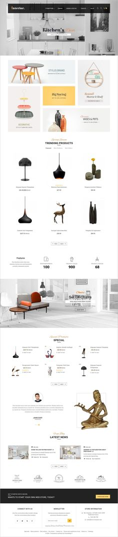 Interior is a beautifully design #Prestashop theme for multipurpose #decor #shop eCommerce with 8+ stunning homepage layouts download now➯ https://themeforest.net/item/interior-prestashop-multi-purpose-responsive-theme/16976045?ref=Datasata