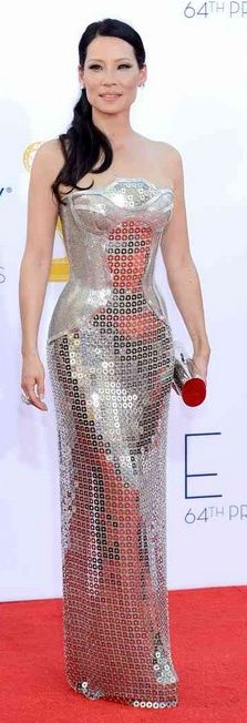 Lucy Liu in Versace    The House of Beccaria~