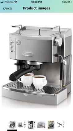 Would you recommend this? Im hoping the steam wand is better/stronger than whats on my Nespresso Marstra. DeLonghi EC702 15-Bar-Pump Espresso Maker #coffee #cafe #espresso #photography #coffeeaddict #yummy #barista