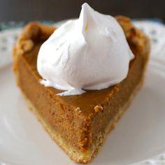 Libby's® Famous Pumpkin Pie Libby's Famous Pumpkin Pie Recipe, Pumpkin Pie Recipes, Fall Recipes, Holiday Recipes, Christmas Recipes, Christmas Cooking, Holiday Foods, Christmas Decor, Libbys Pumpkin Pie