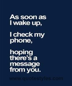 I wake up- Love quotes