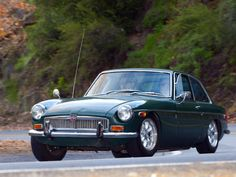 MGB GT action 1
