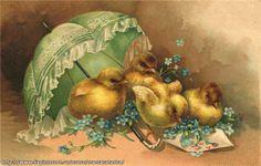 Винтажные пасхальные открытки. Обсуждение на LiveInternet - Российский Сервис Онлайн-Дневников