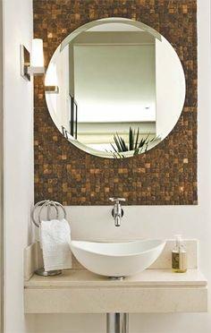 Fotos de Lavabos Decorados Pequenos - Banheiros Modernos - Fotos e modelos de Lavabos Decorados Lavabos Decorados - Veja estas fotos e inspire-se para a criação de um espaço que seja bem notado, estes lavabos geral