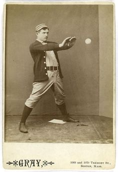 Jack Clements    Source: The A.G. Spalding Baseball Collection (more info)    Repository: The New York Public Library. Photography Collection, Miriam and Ira D. Wallach Division of Art, Prints and Photographs.    Subjects: Infielders (Baseball); Clements, Jack, 1864-1941; Philadelphia Quakers (Baseball team); Baseball